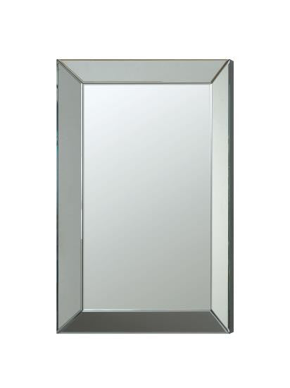 Violet Frameless Beveled Mirror