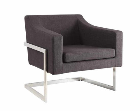 Image of Luxington Accent Chair in Grey