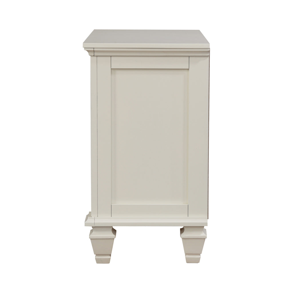 Sandy Beach Collection Nightstand White