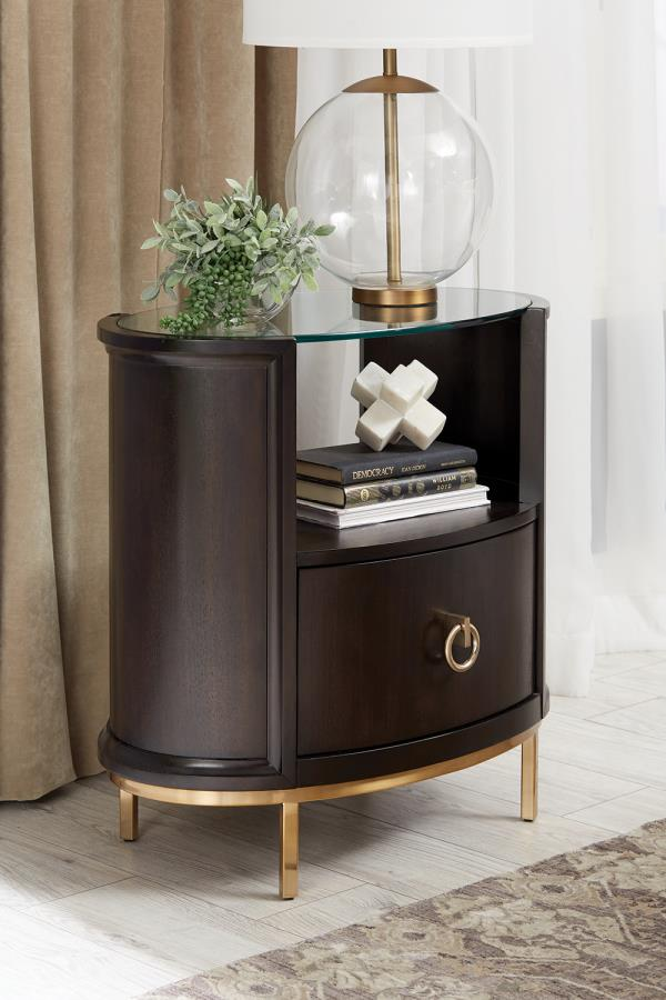 Formosa Oval Nightstand