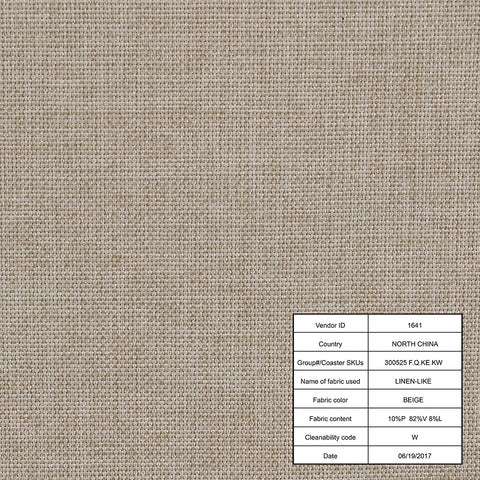 Image of Devon Upholstered Bed Beige