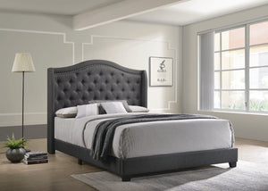 Sonoma Upholstered Bed in Grey
