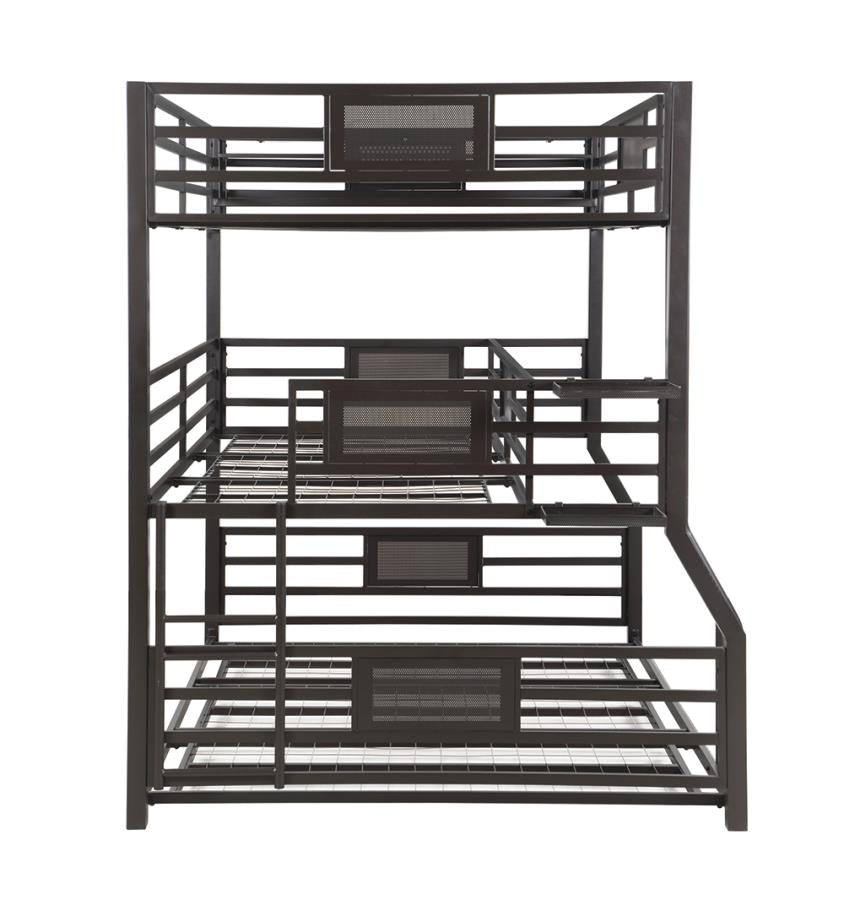 Rogen Triple Full/Txl/Queen Bunk Bed