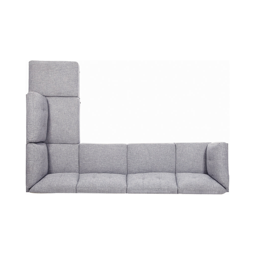 Churchill Collection Sectional in Grey