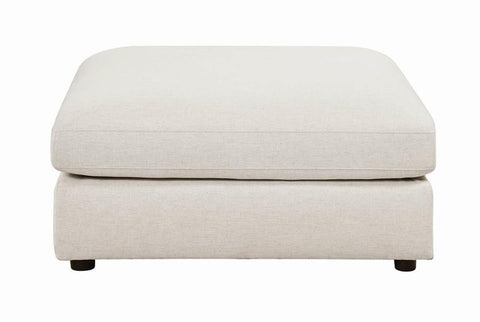 Image of Serene Collection Ottoman in Beige