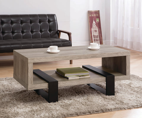 Lormont Modern Driftwood Coffee Table