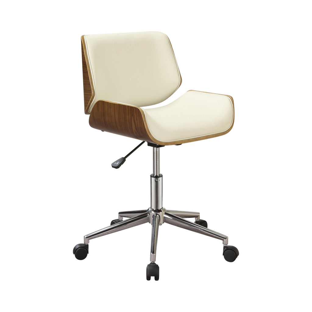 Saint Mod Office Chair in Ecru