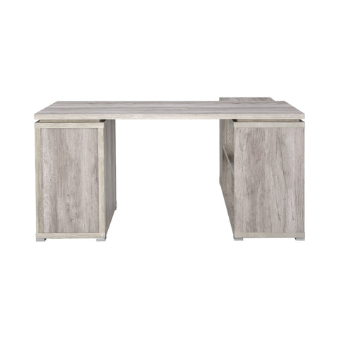 Yvette Desk in Grey Driftwood