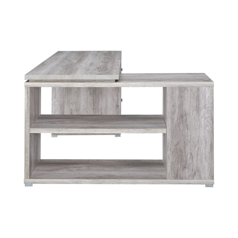 Image of Yvette Desk in Grey Driftwood