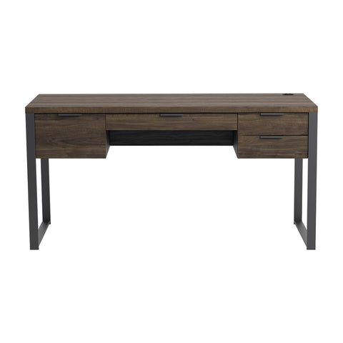 "Image of Pattinson 60"" Writing Desk w/ Outlet"