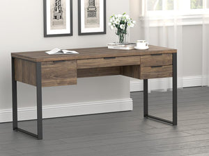 "Pattinson 60"" Writing Desk w/ Outlet"