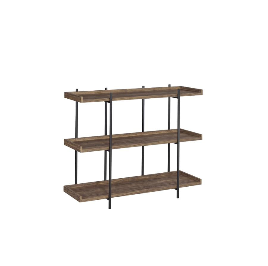 Monoray Bookcase in Aged Walnut