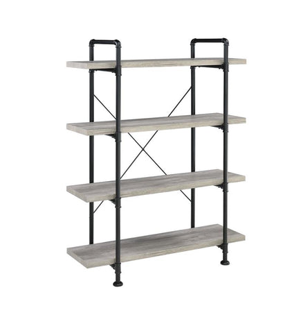 Delray Bookcase in Grey Driftwood