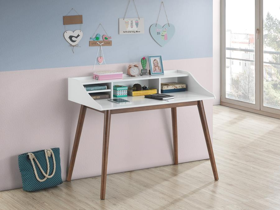 Percy Writing Desk in White