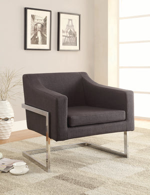 Luxington Accent Chair in Black