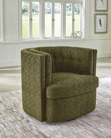 Osgood Swivel Chair Mossy Green
