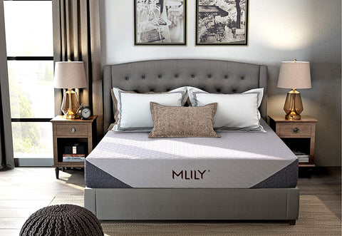 Image of MLILY 10 Inch Harmony+ Memory Foam Mattress