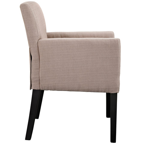 Image of Chloe Upholstered Fabric Armchair