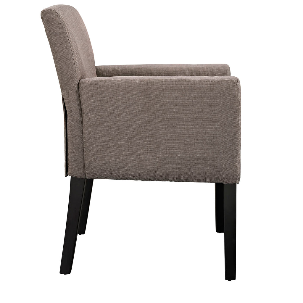 Chloe Upholstered Fabric Armchair
