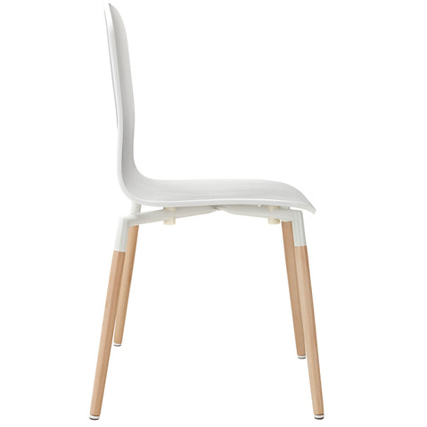 Image of Stack Dining Wood Side Chair