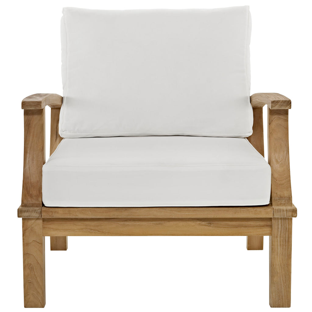 Marina Outdoor Patio Teak Armchair