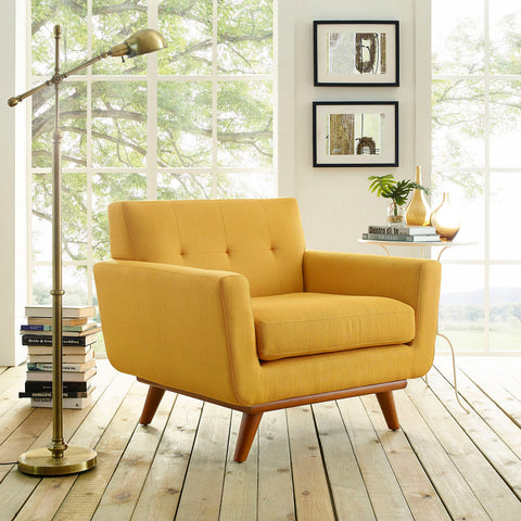 Image of Engage Upholstered Fabric Armchair