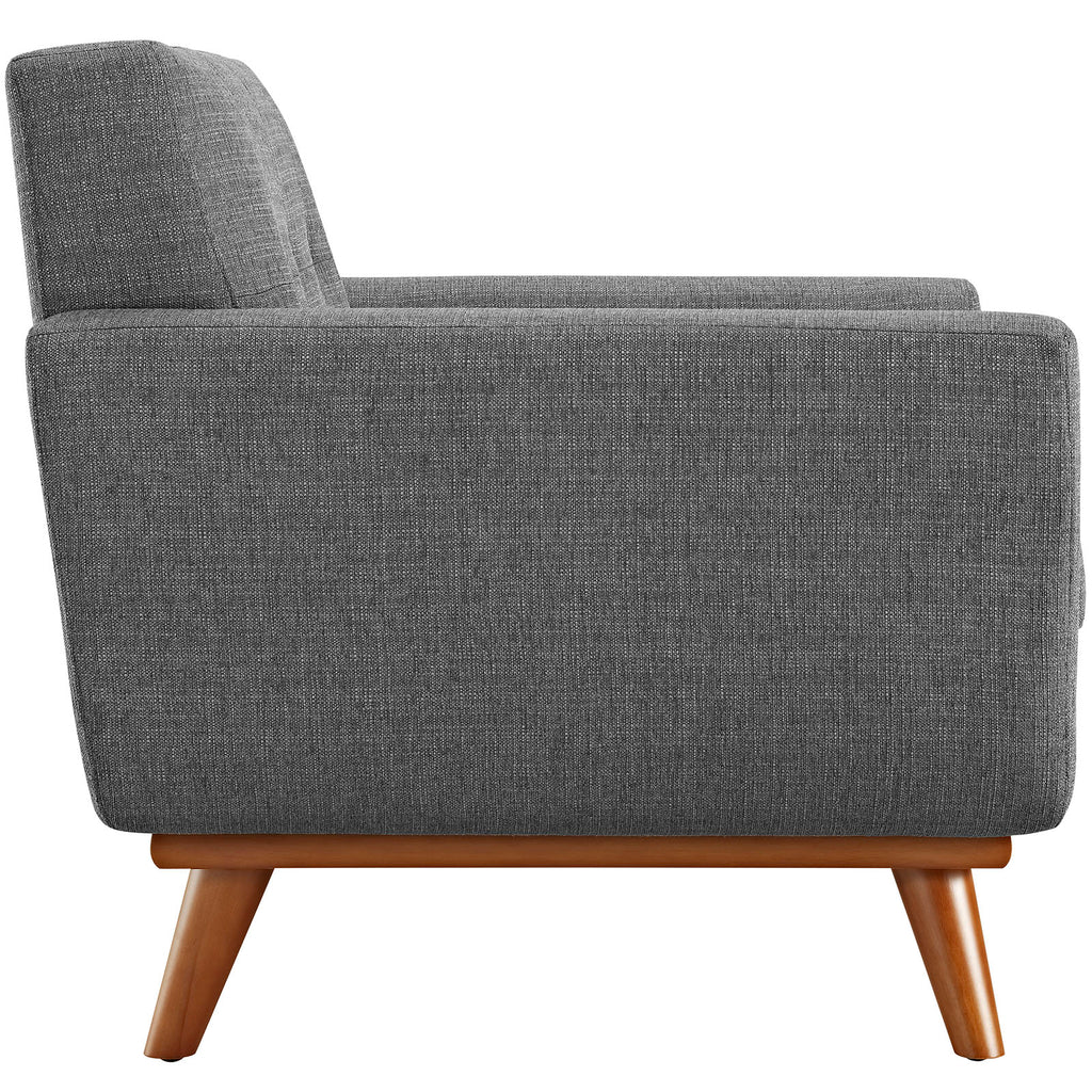 Engage Upholstered Fabric Armchair