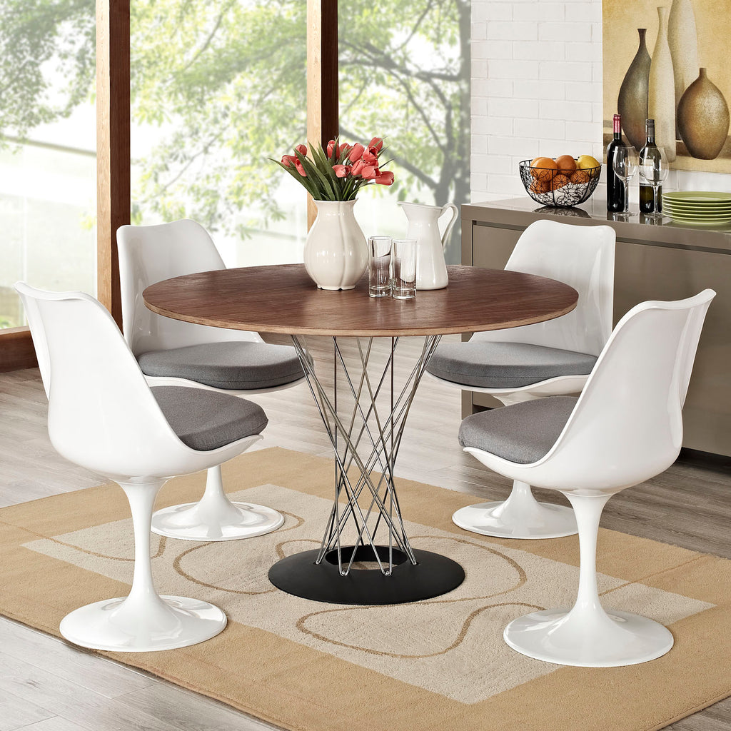 Lippa Dining Side Chair Fabric Set of 4