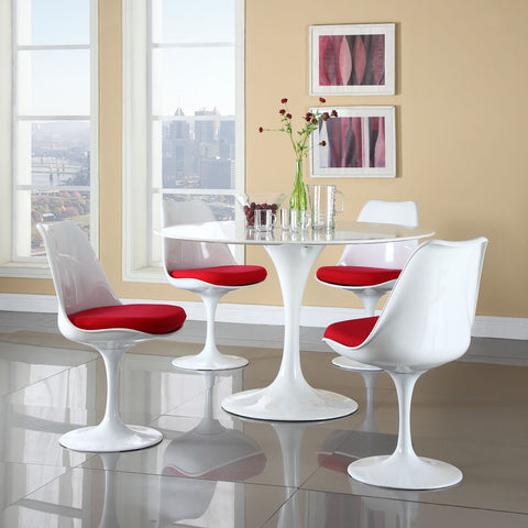 Image of Lippa Dining Side Chair Fabric Set of 4