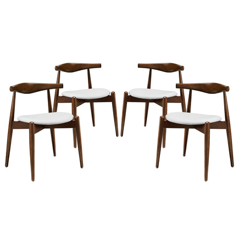 Image of Stalwart Dining Side Chairs Set of 4