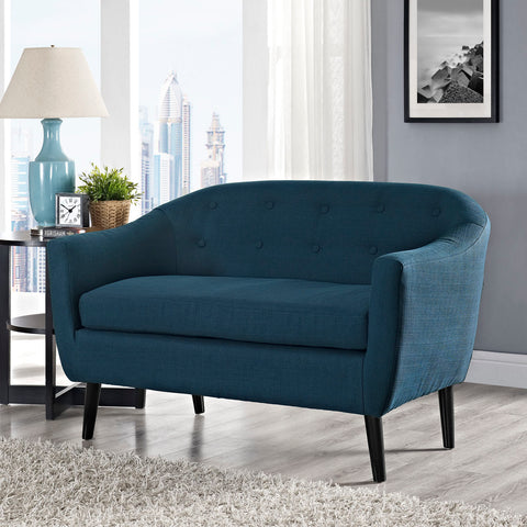Image of Wit Upholstered Fabric Loveseat
