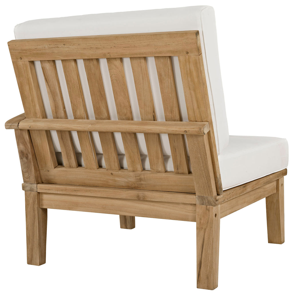 Marina 5 Piece Outdoor Patio Teak Set