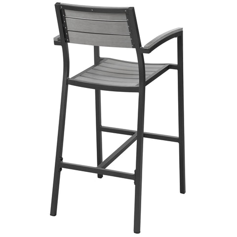 Image of Maine Bar Stool Outdoor Patio Set of 2