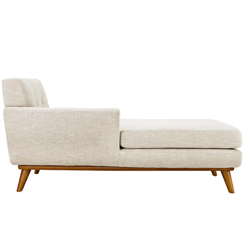 Engage Left-Facing Upholstered Fabric Chaise