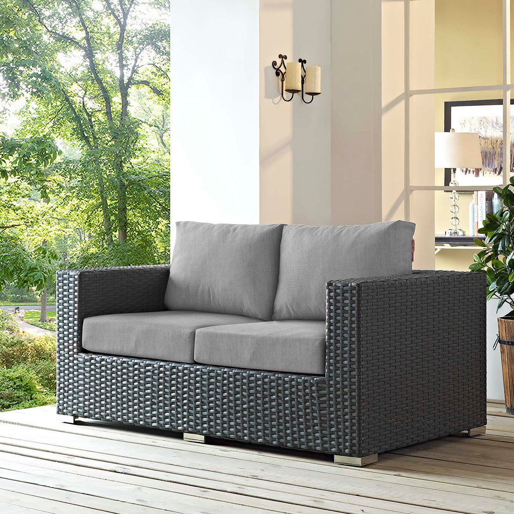 Sojourn Outdoor Patio Sunbrella® Loveseat