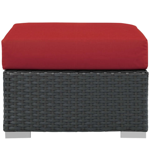 Image of Sojourn Outdoor Patio Sunbrella® Ottoman