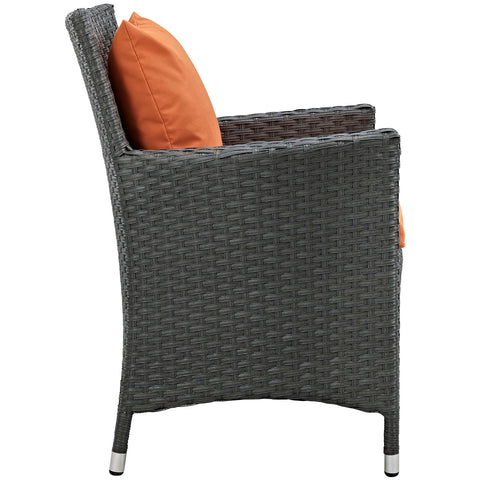 Image of Sojourn Dining Outdoor Patio Sunbrella® Armchair