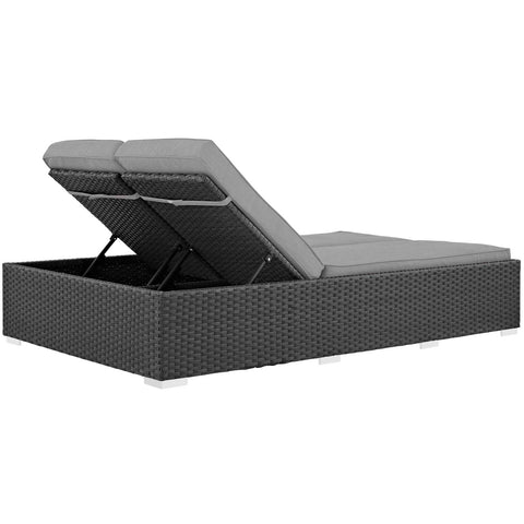 Image of Sojourn Outdoor Patio Sunbrella® Double Chaise