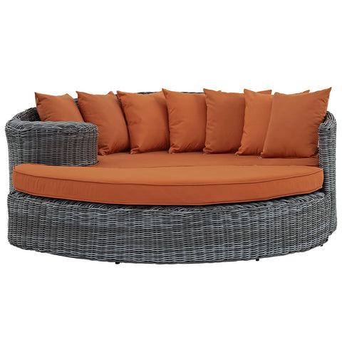 Image of Summon Outdoor Patio Sunbrella® Daybed