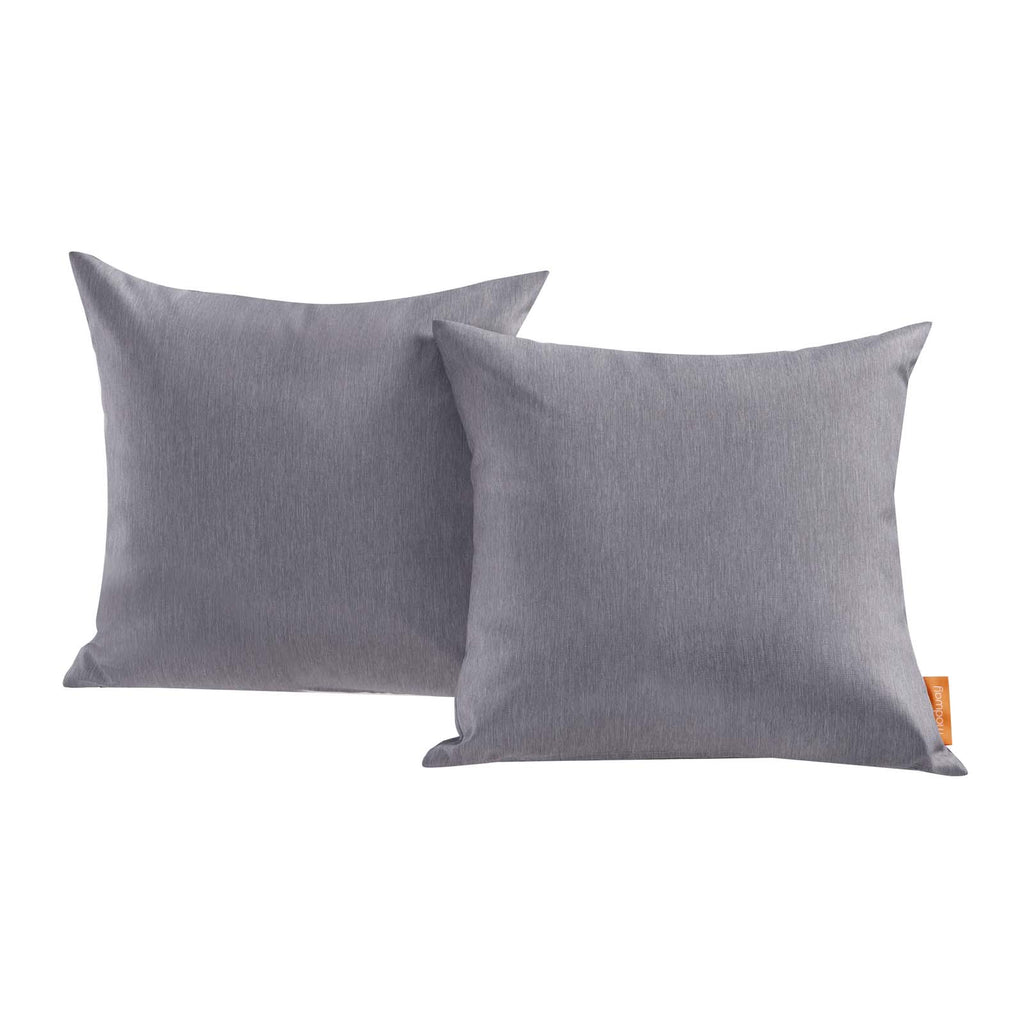 Convene Two Piece Outdoor Patio Pillow Set