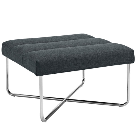 Image of Reach Upholstered Fabric Ottoman