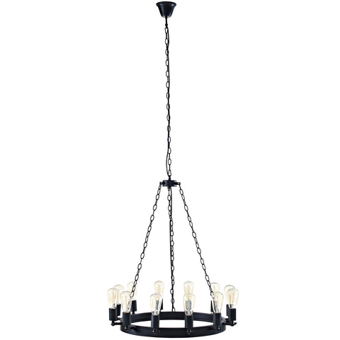 "Image of Teleport 29"" Chandelier"