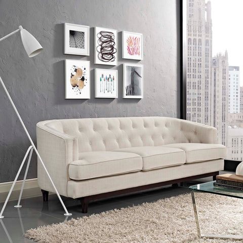Image of Coast Upholstered Fabric Sofa