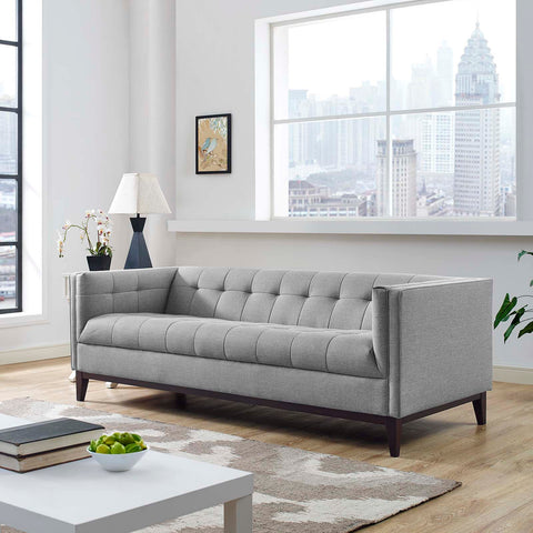 Image of Serve Upholstered Fabric Sofa