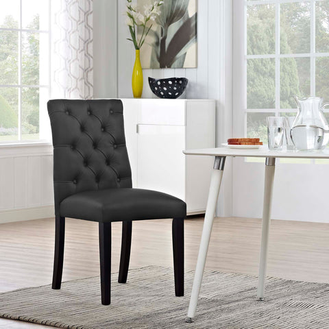 Image of Duchess Vinyl Dining Chair