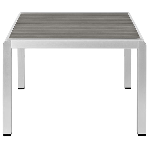 Image of Shore Outdoor Patio Aluminum Coffee Table