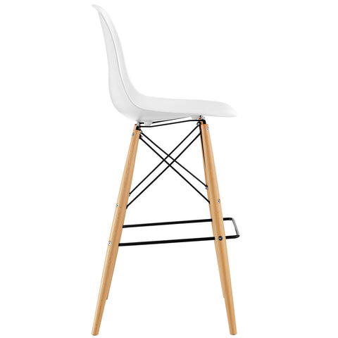 Image of Pyramid Dining Side Bar Stool Set of 2