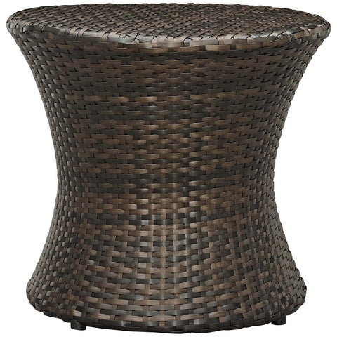 Image of Stage Round Outdoor Patio Side Table