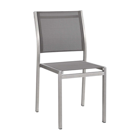 Image of Shore Side Chair Outdoor Patio Aluminum Set of 2