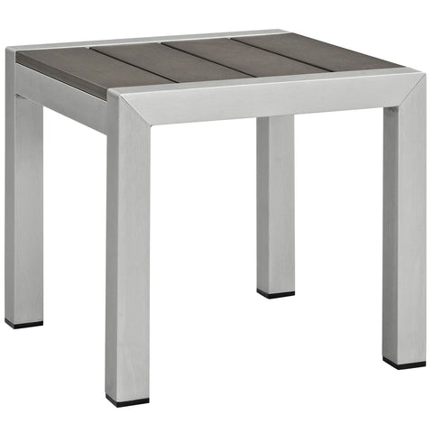Image of Shore 3 Piece Outdoor Patio Aluminum Set